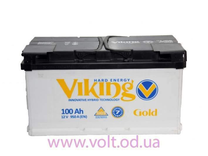 Viking Gold 100AH R+ 950A