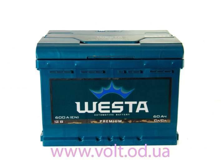 Westa 60ah L+600A