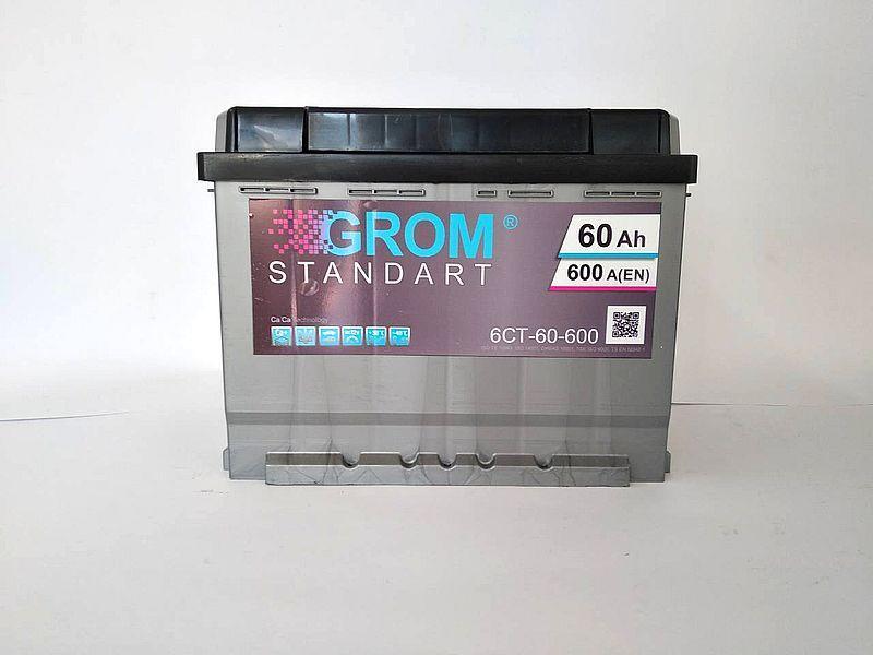 GROM 60ah L+600A