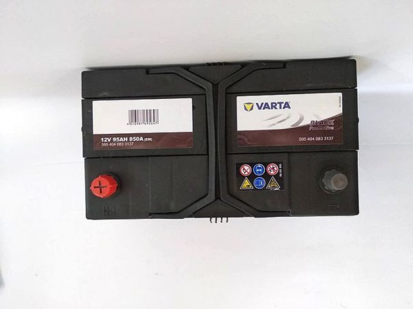 Varta Promotive Black 100Ah 900A вид сверху