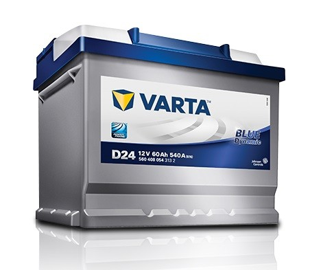 Varta Blue Dynamic 60Ah 540A (низкобазовый)