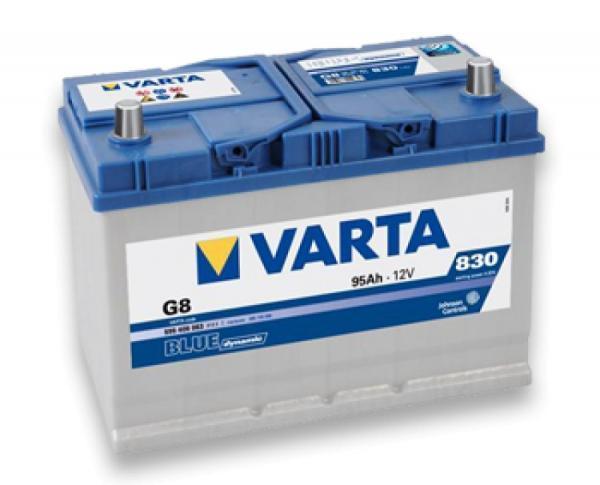 Varta Blue Dynamic 95Ah JL+ 830A