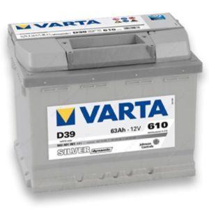 Varta Silver Dynamic 63Ah R+ 610A