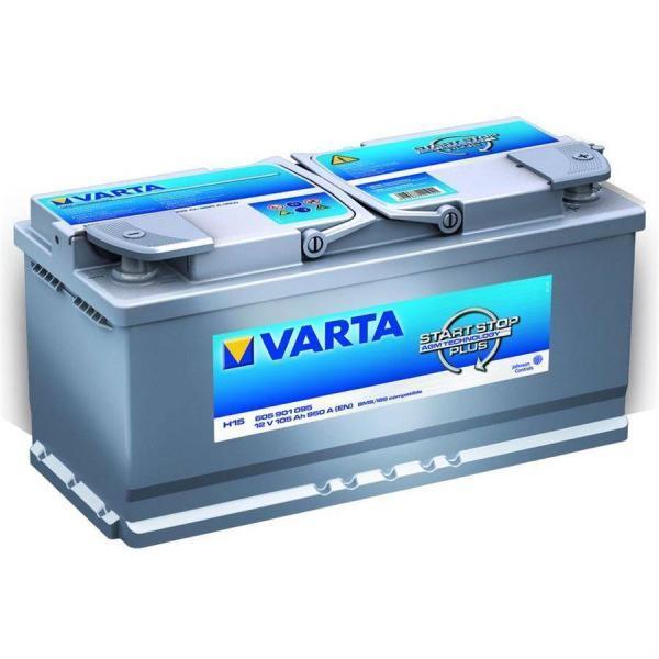 Varta Silver Dynamic AGM 105Ah R+ 950A