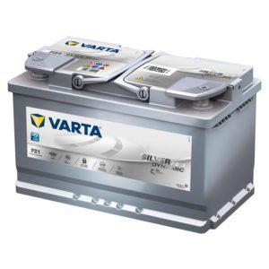 Varta Silver Dynamic AGM 80Ah R+ 800A