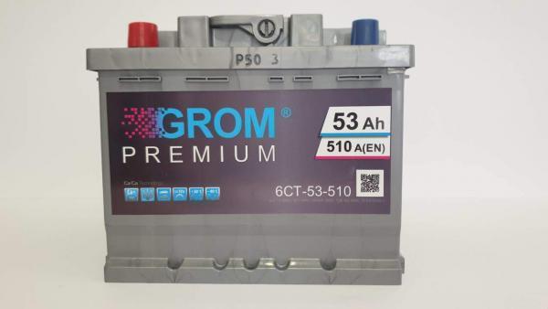 GROM PREMIUM 53ah 550A