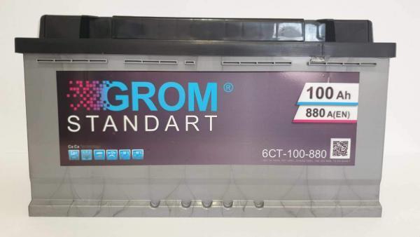 GROM standart 100ah 880A