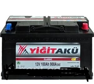 Yigit Aku Classic 100AH R+ 900A