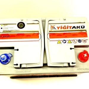 Yigit Aku Classic Asia 88Ah R+ 850A вид сверху