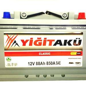 Yigit Aku Classic Asia 88Ah R+ 850A