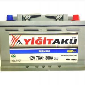 Yigit Aku Premium Asia 78Ah R+ 800A