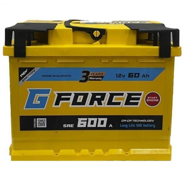 G Force 60Ah 600A L