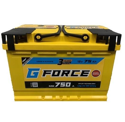 G Force 75Ah 750A R