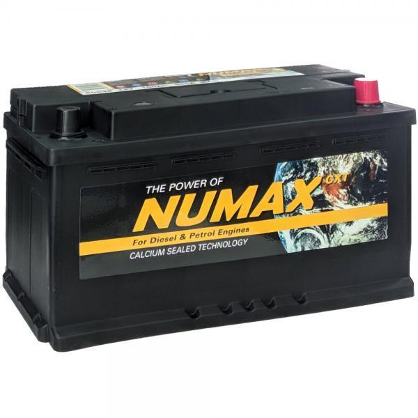 NUMAX 100Ah 850A R