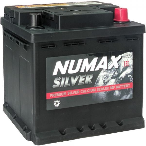 NUMAX Silver 55Ah 500A R