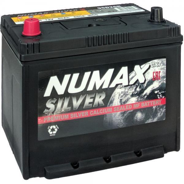 NUMAX Asia Silver 85Ah 720A L