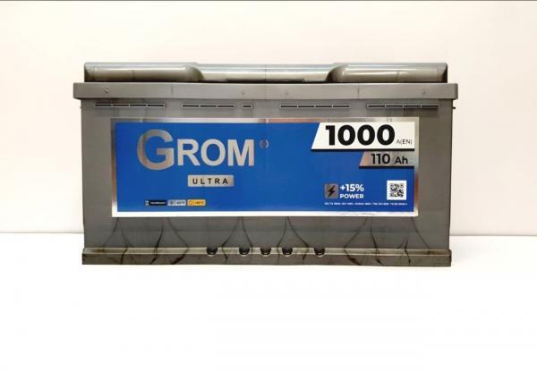 GROM Ultra 110ah R+1000A
