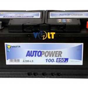 Autopower A100-L5 100 А.ч вид сверху