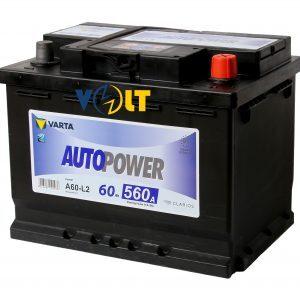 Autopower A60-LB2 60 А.ч R+