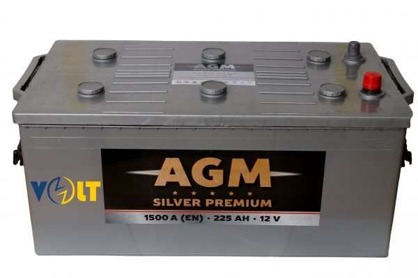 Аккумулятор AGM 225 Ah (3) 1600A